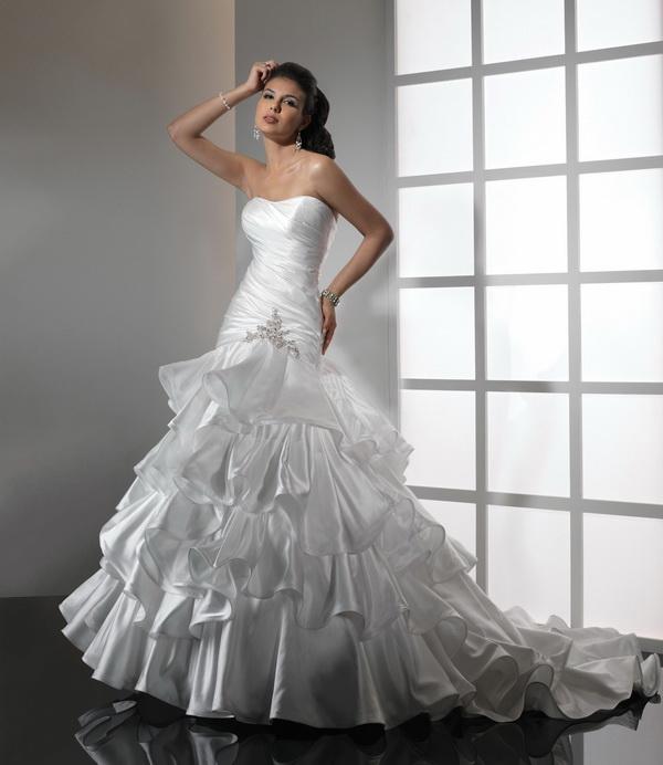 Купить дорогое свадебное платье 11